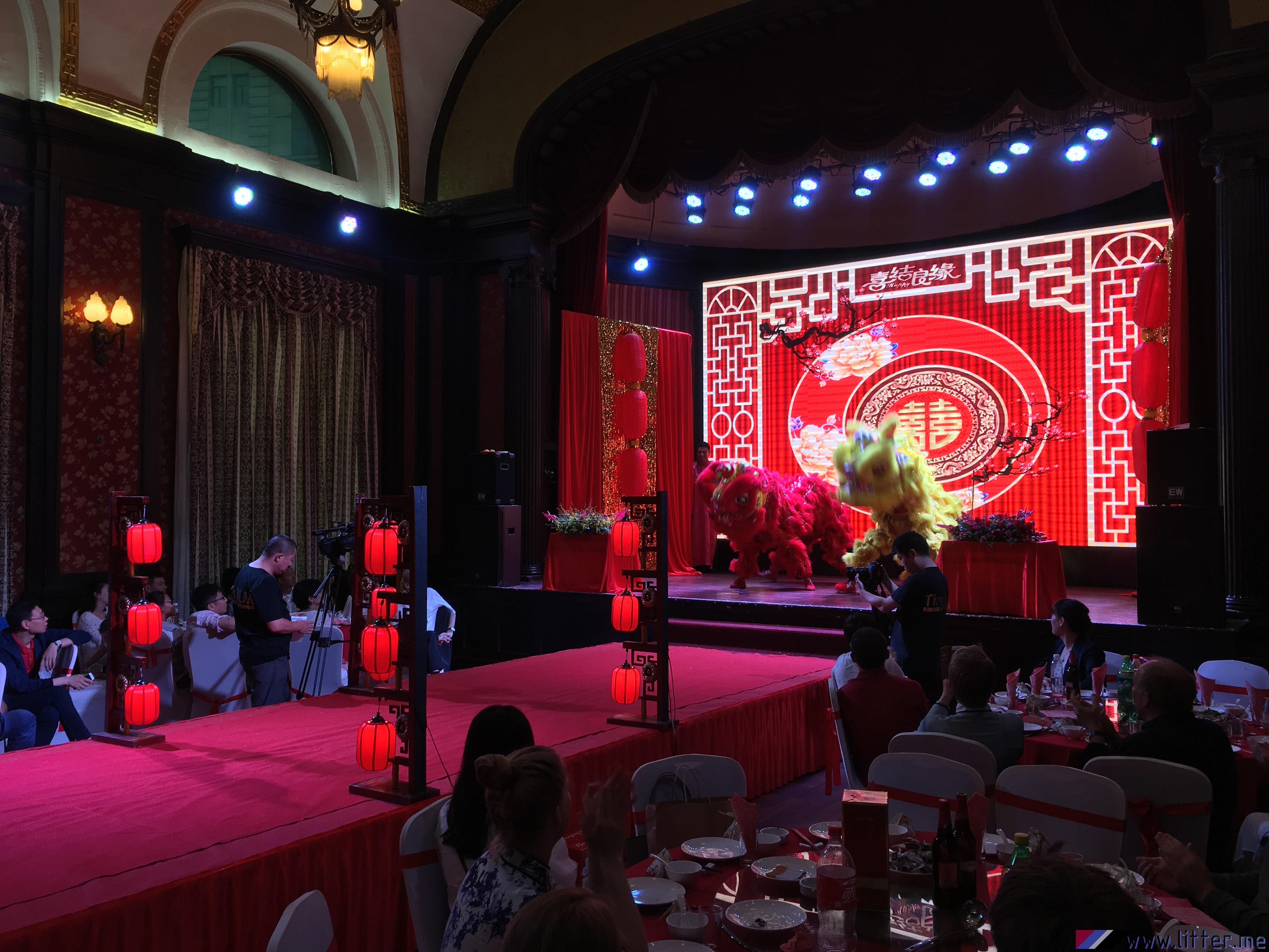 Chinesische Hochzeit M H